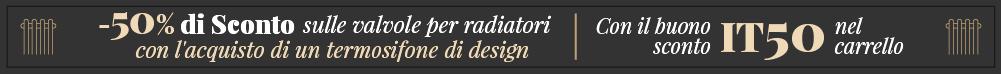 Banner Promozionale con  buono sconto